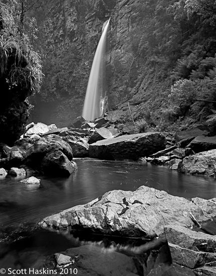 Reynolds Falls, Cradle Mountain Lake St Clair National Park, Tasmania